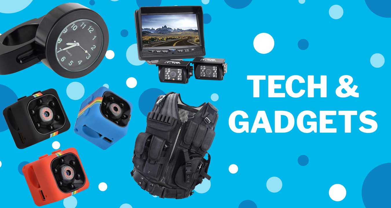 Tech Gadgets Keep You on the Top of the World